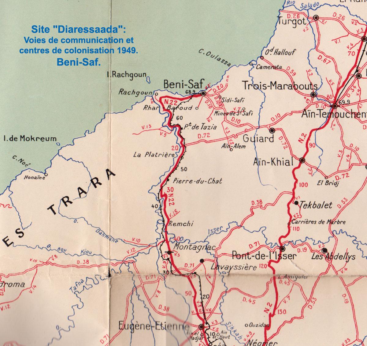 Carte Algerie Beni Saf.Population Des Departements De L Oranie Oran Mostaganem